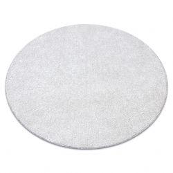 Covor rotund SANTA FE smântână 031 simplu, culoare, solidă