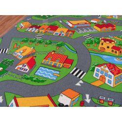 gyermek szőnyeg utcák KIS FALU