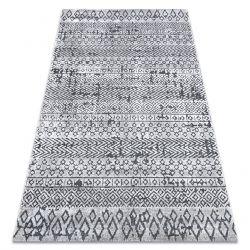 Tapis Structural SIERRA G6042 tissé à plat beige / crème - géométrique, ethnique