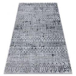 Килим Structural SIERRA G6042 плоски тъкани сив - геометричен, етнически