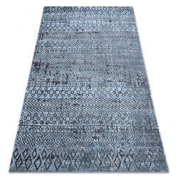 Ковер Structural SIERRA G6042 плоский тканый синий - геометрический, этнической
