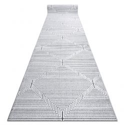 Passatoia Structural SIERRA G5018 tessuto piatto grig - strisce, quadriio