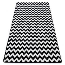 Carpet SKETCH - F561 white/black - Zigzag