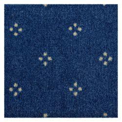 DYWAN - Wykładzina dywanowa CHAMBORD 077 niebieski