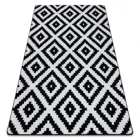 Carpet SKETCH - F998 white/black - Squares