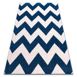 Sketch szőnyeg - FA66 kék/fehér - Cikcakk