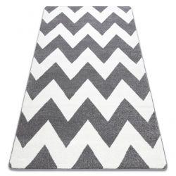 Tapete SKETCH - FA66 cinzento/branco - Zigzag