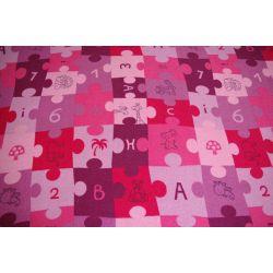 Teppich PUZZLE lila