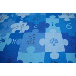 Kirakós játék gyermek szőnyeg kék