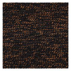 DYWAN - Wykładzina dywanowa BLAZE 399 ciemny brąz / miedź