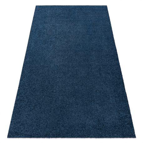 Modern washing carpet ILDO 71181090 dark blue