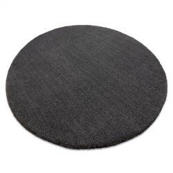 Modern washing carpet LATIO 71351100 circle grey