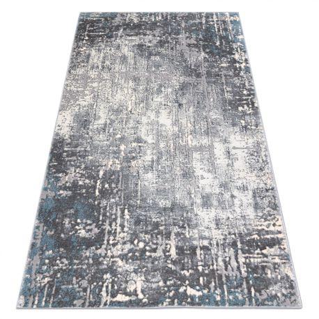 ковер OPERA 0W9782 C85 25 - Structural два уровня флиса серый / синий