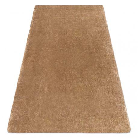 Modern washing carpet LAPIN shaggy, anti-slip ivory / brown