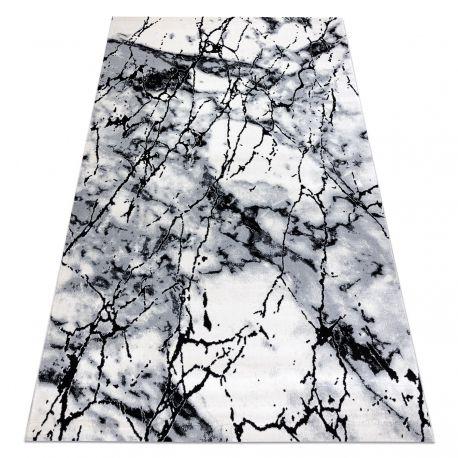 Teppich OPERA 09141A C72 28 Marmor - Structural zwei Ebenen aus Vlies grau / schwarz