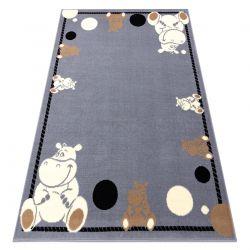 Килим BCF FLASH Hippo 3993 – Хипопотам сив