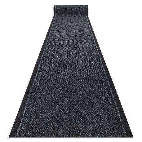 Runner - Doormat antislip 80 cm CORDOBA 2126 outdoor, indoor grey