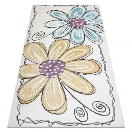 ковер SAMPLE BONN D7201 цветы - слоновой кости