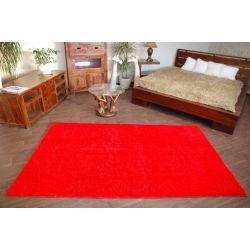Shaggy szőnyegpadló 5cm piros