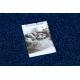 Koberec SOFFI shaggy 5cm tmavě modrý