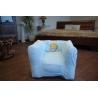 Aufblasbare Stuhl DISNEY CINDRELLA blau