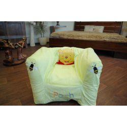 Nafukovací pouf židle pro DISNEY KUBUŚ PUCHATEK zelený