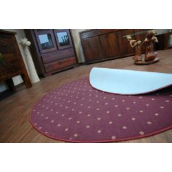 Carpet circle CHIC 087 purple
