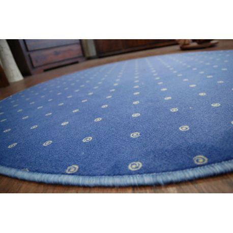 Koberec kruh CHIC 178 modrý