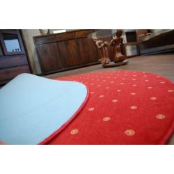 Carpet circle CHIC 110 red