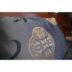 Pillow FLORYDA black / gold