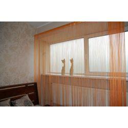 FIRANKA MAKARON 250x300 cm DECO PASKI 09 oranż