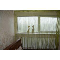 Curtain 250x300 cm DECO PASKI 10 green