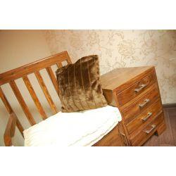 Pillow MINK brown