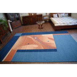 Teppich TWIST MALAWI blau