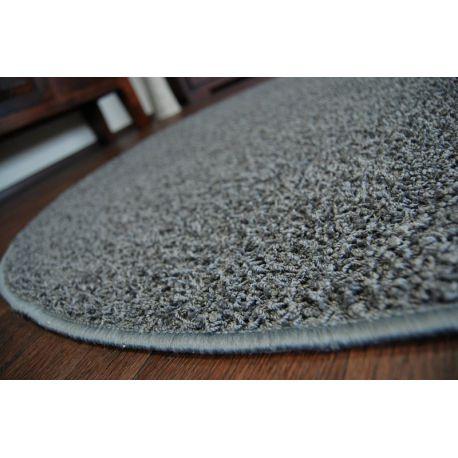 Carpet circle GLITTER 166 grey
