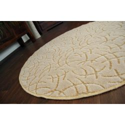 Carpet circle MONTEREY 330 beige