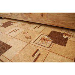 Passadeira carpete POLKA 44 castanho