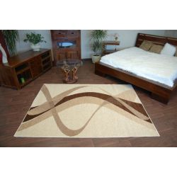 Carpet KARMEL BROWN cream