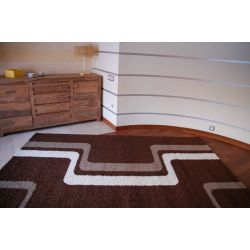 Carpet JAZZY DASH dark brown