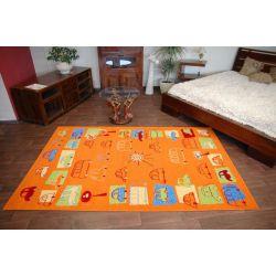 Teppich FRYZ TRAFFIC mandarine