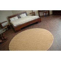 Teppich rund MELODY beige