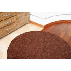 Carpet round SPHINX brown