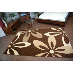 Teppich KARAMELL COCOA braun
