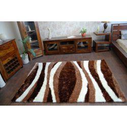 Килим SHAGGY SYMFONIA 101 коричневий