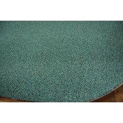 Wykładzina dywanowa WELUROWA TECHNO STAR 490 zielony
