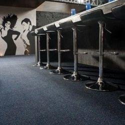 KOBEREC, Koberec metráž VELUR TECHNO STAR modrý