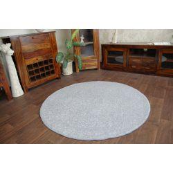 Carpet round SERENITY silver