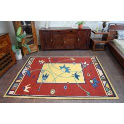 Carpet WEL-HIT TRZYKROTKA gold