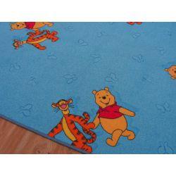 Mocheta Winnie the Pooh albastru