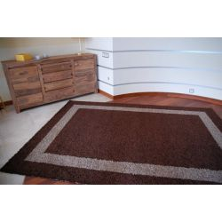Carpet JAZZY LOCO dark brown